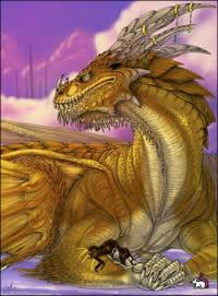 Священный Дракон - доброжелательное и полностью сознательное существо.